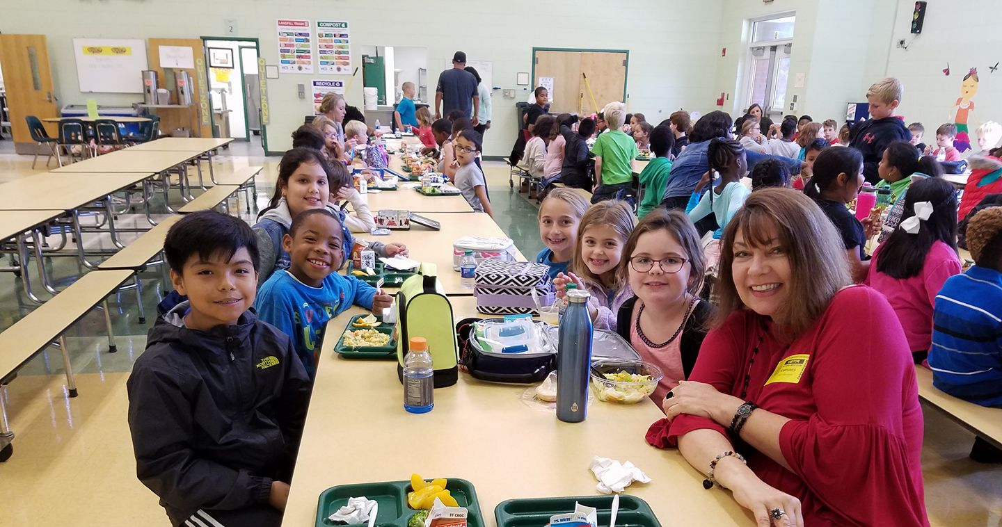 Monnie's School Lunch Tour Features Food and Fun