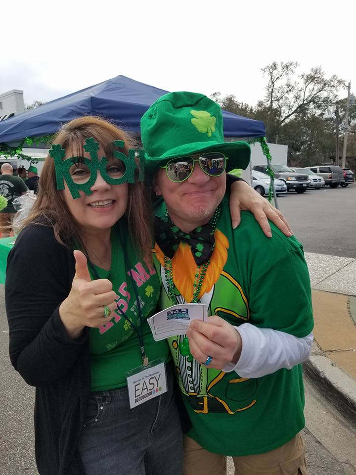 Easy Radio and The Tide Enjoy a Festive St. Patrick's Day in NMB