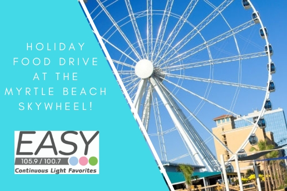 Holiday Food Drive at The Myrtle Beach Skywheel