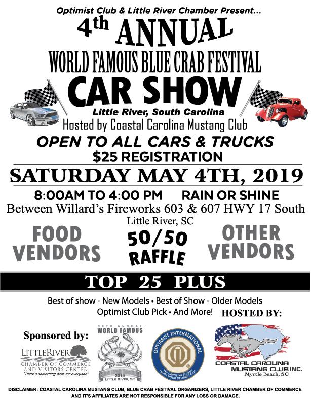 Coastal Carolina Mustang Club's Car Show
